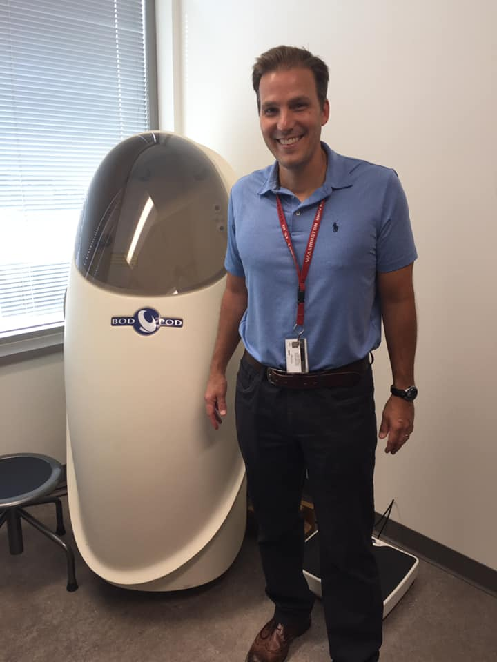 Dr. Todd Cade and the Bod Pod